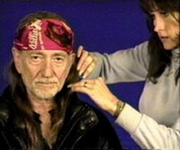 Achievements include taping such celebrities as Willie Nelson